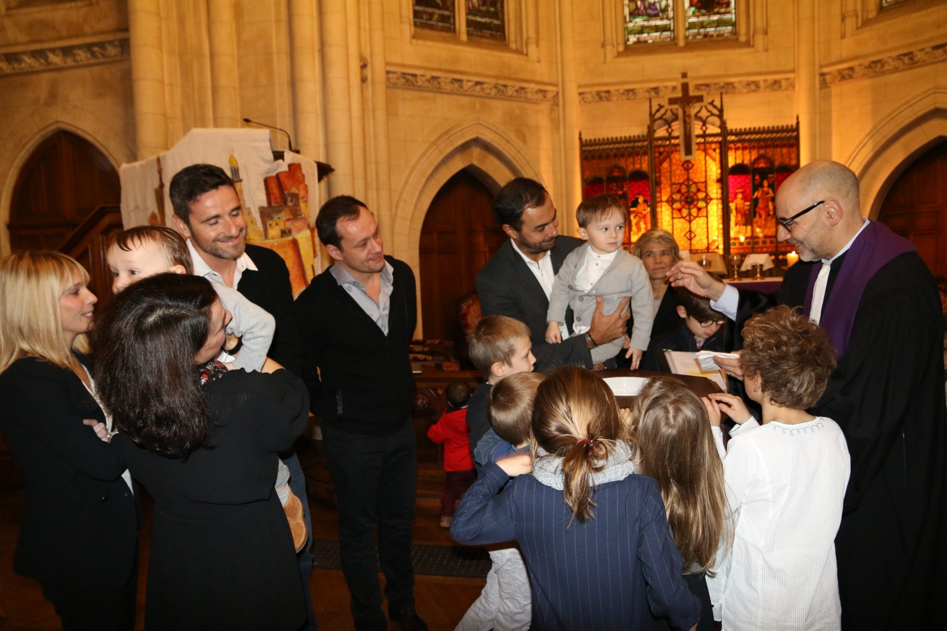 Enfants baptême